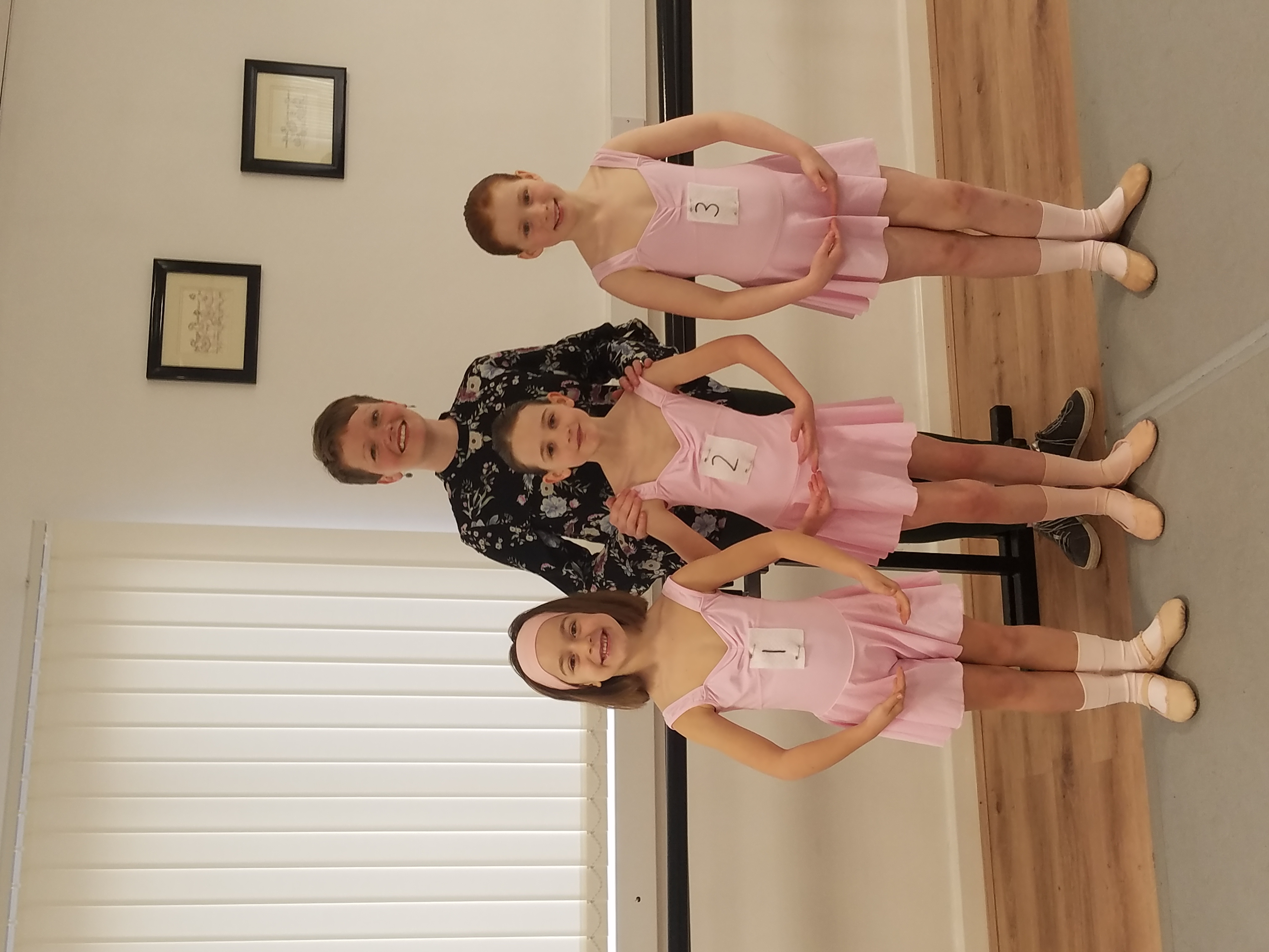 Primary Tap and Ballet exams, April 2019