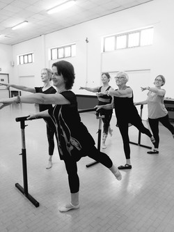 Wednesday afternoon Adult Ballet, July 2