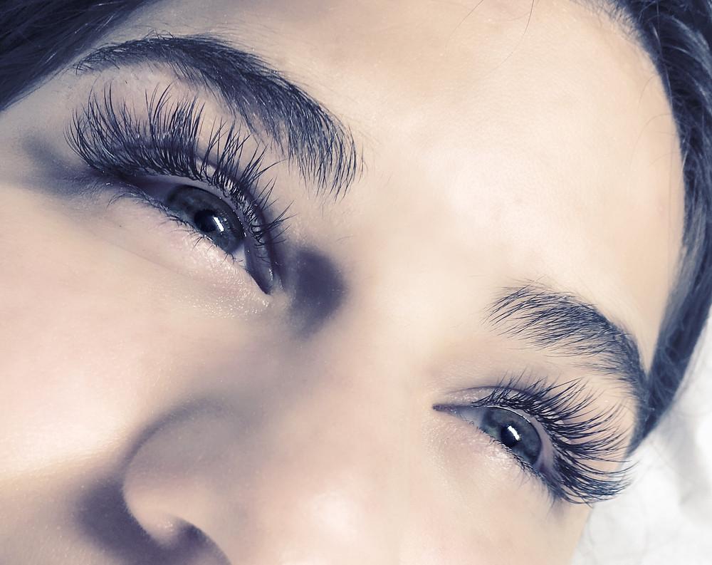 Classic lashes, eyelash extensions, perfect for wedding lashes, bridal lashes
