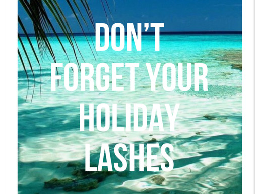 10 reasons why you should get Holiday Lashes.