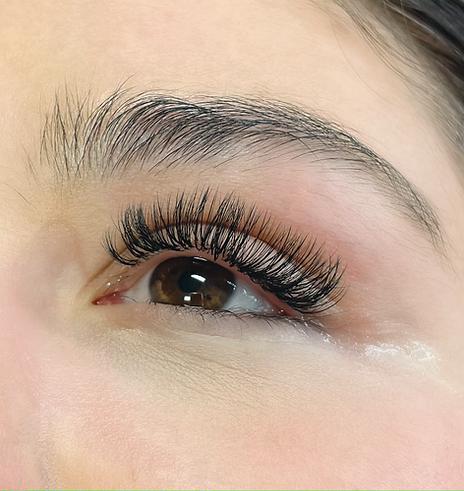 Hybrid Eyelashes by Katie