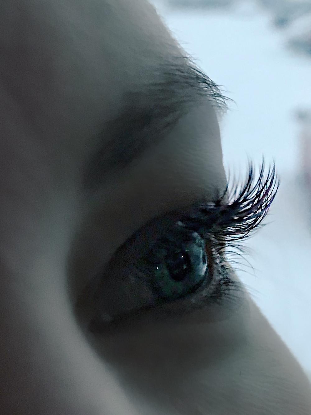 holiday lashes , eyelash enhancements