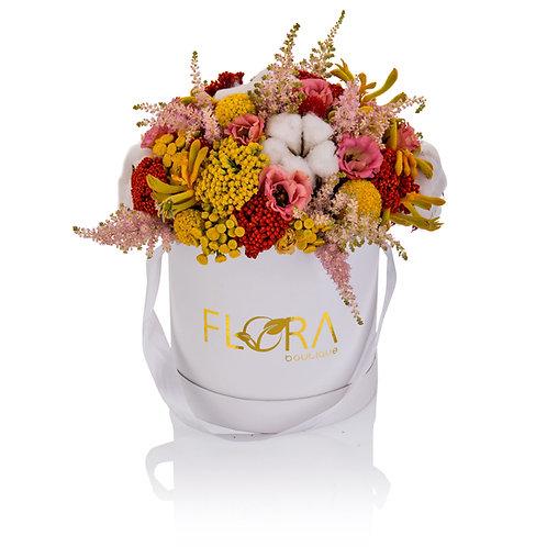 קופסת פרחים בהפתעה - גדול