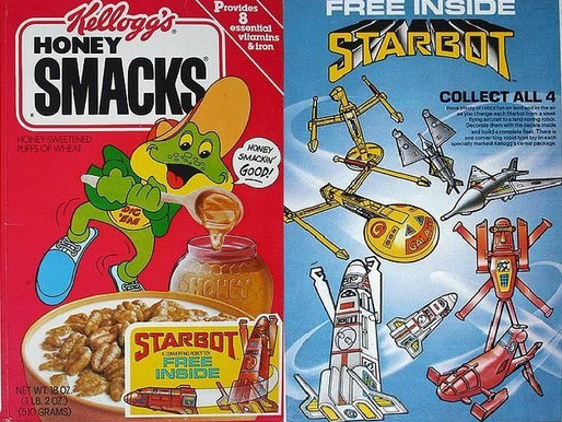 Why Don't Cereals Have Toys Inside Anymore?