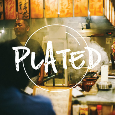 Plated web series logo