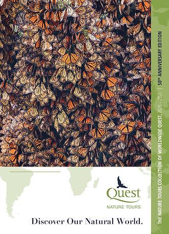 Catalogue cover - Quest Nature Tours sid