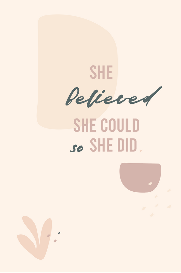 She believed.png