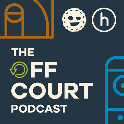The Off Court Podcast Logo
