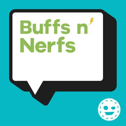 Buffs n' Nerfs Logo
