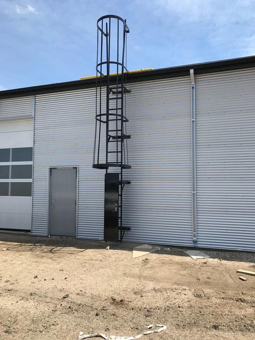 Enclosed Ladder