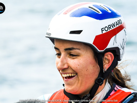 LUCIE BELBEOCH (FRA) AND NICOLAS GOYARD (FRA)ARE THE WINNERS OF 2021 iQFOiL INTERNATIONAL GAMES