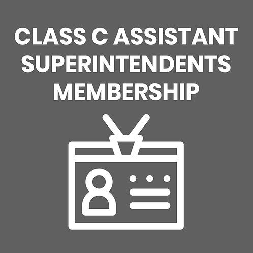 CLASS C ASSISTANT SUPERINTENDENTS DUES