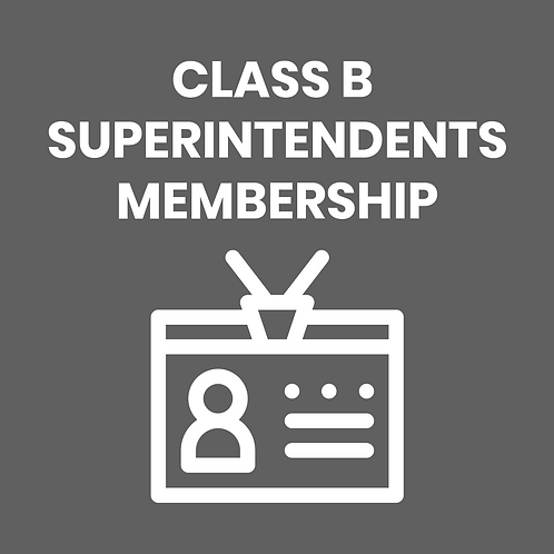 CLASS B SUPERINTENDENTS DUES