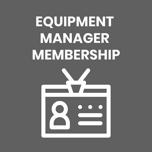 EQUIPMENT MANAGER DUES