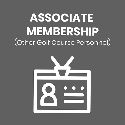 ASSOCIATE DUES (Other Golf Course Personnel)