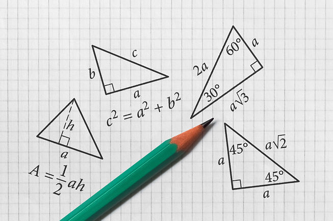 Several triangles and their math propert