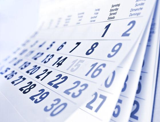 Close up a blue toned calendar page.jpg