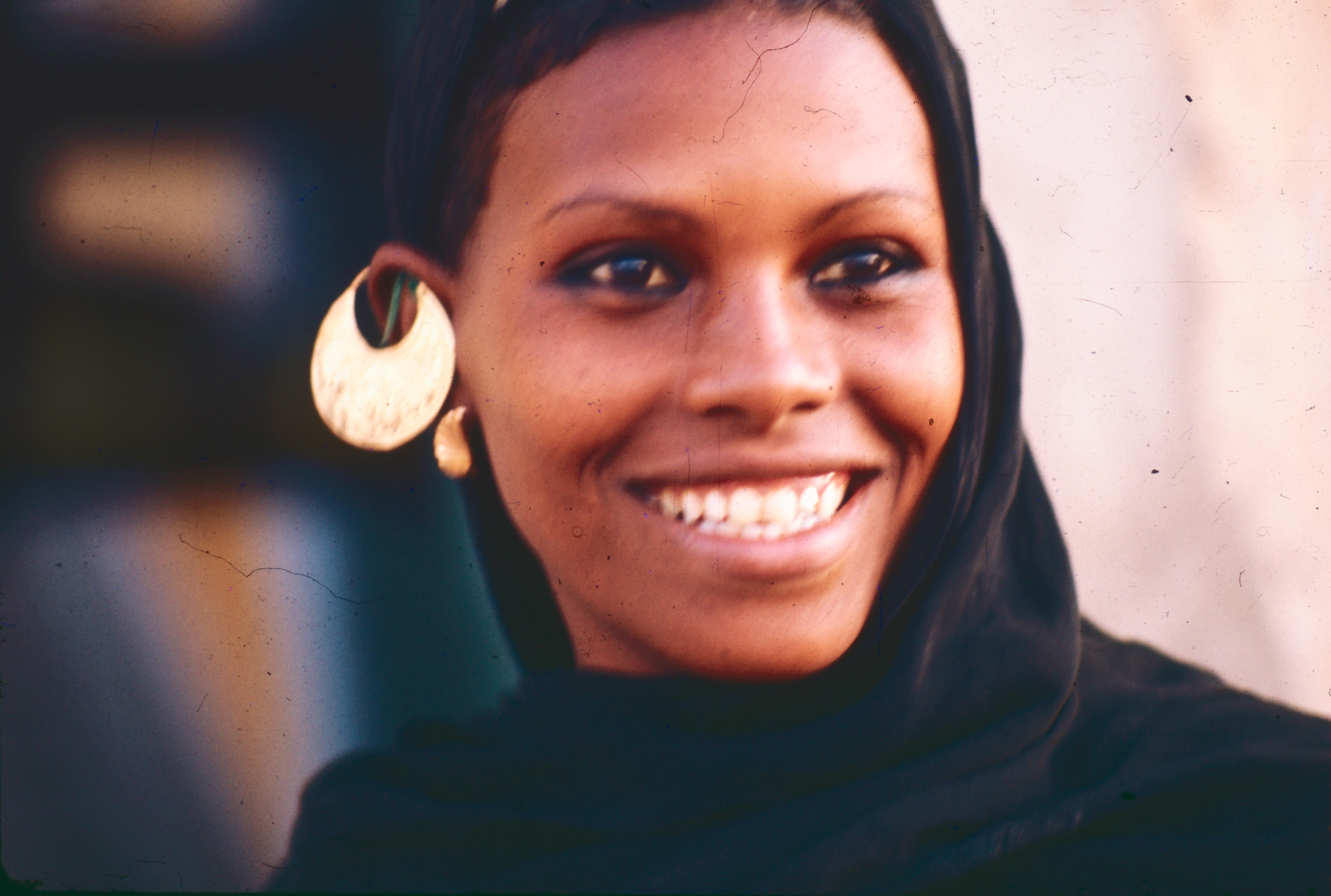 Une femme égyptienne 1977