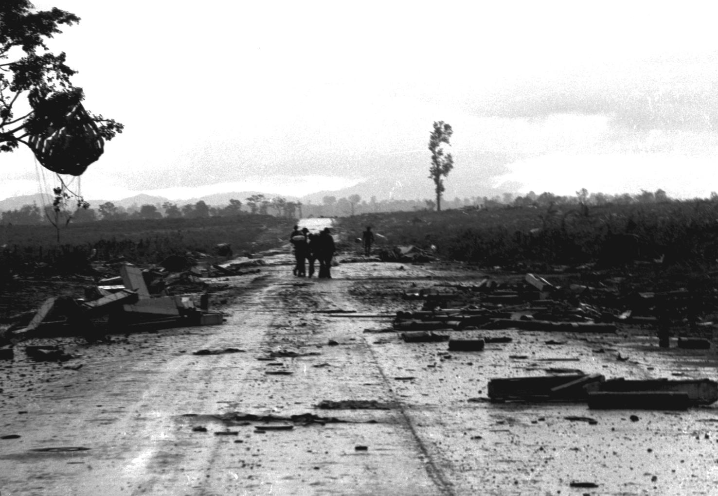 Les hauts plateaux Vietnam 1972