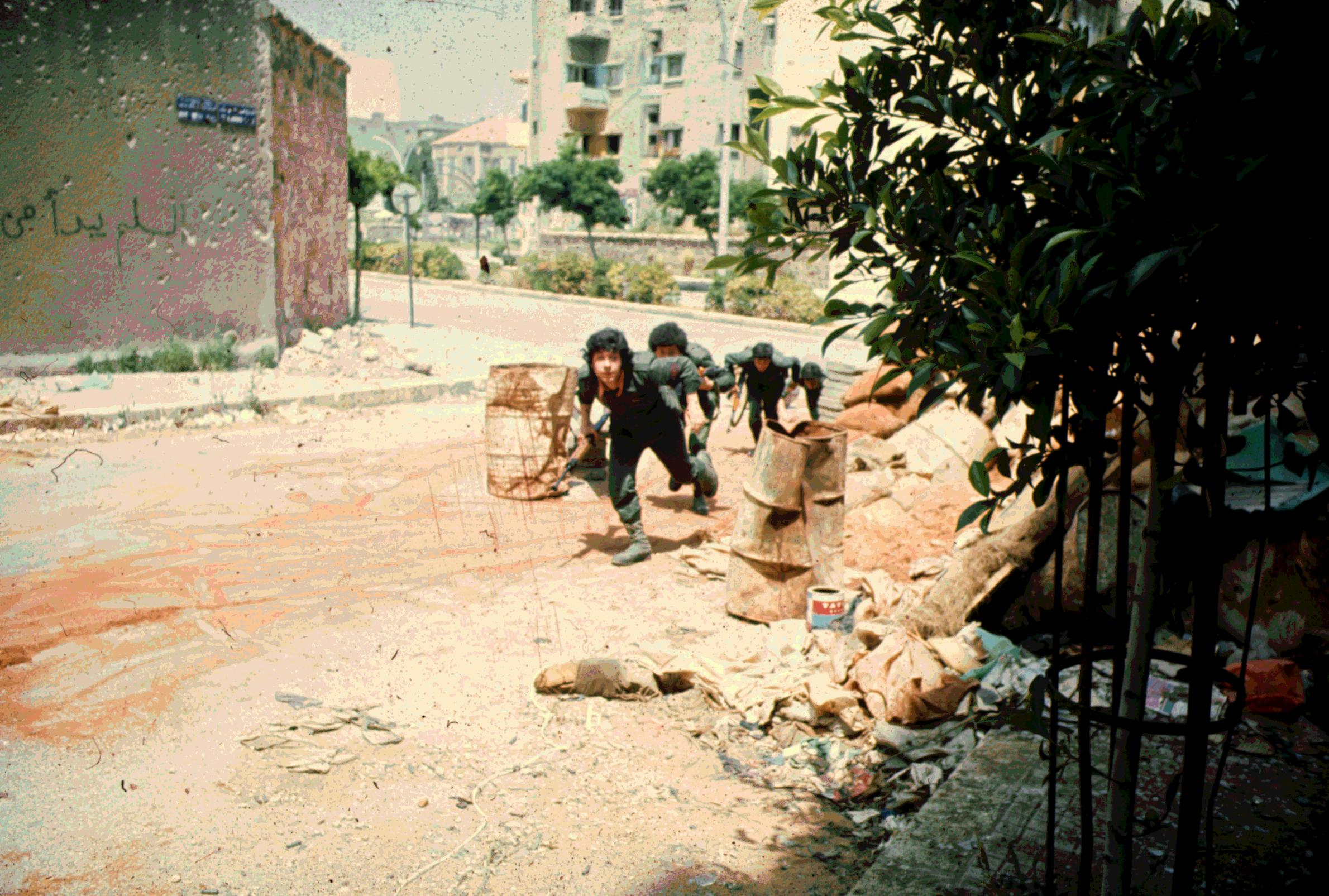 Guerre civile à Beyrouth