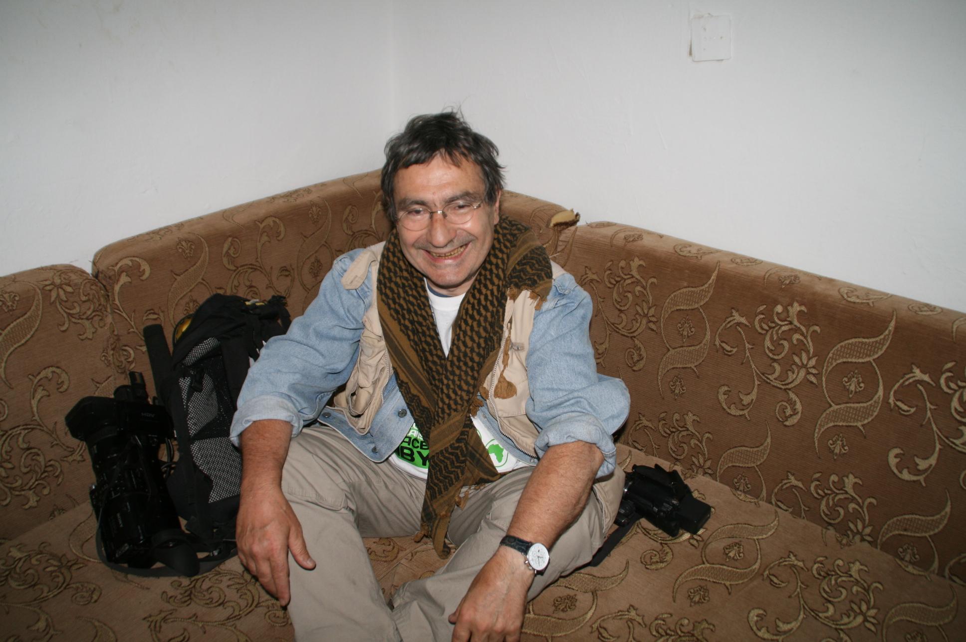 Philipe Buffon en Libye