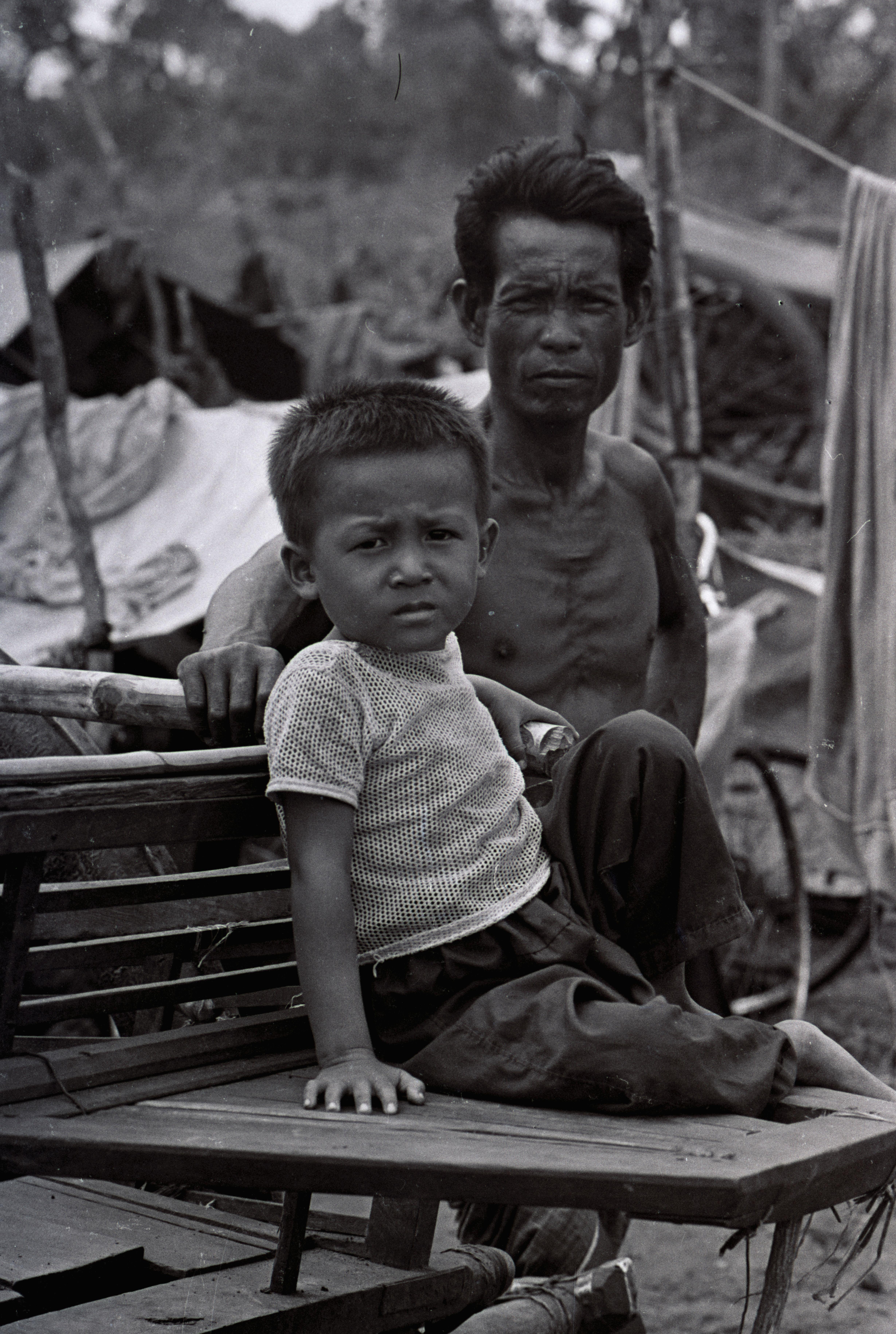 Camp de réfugiés Thailande