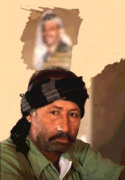 Un militant de L'OLP à Beyrouth