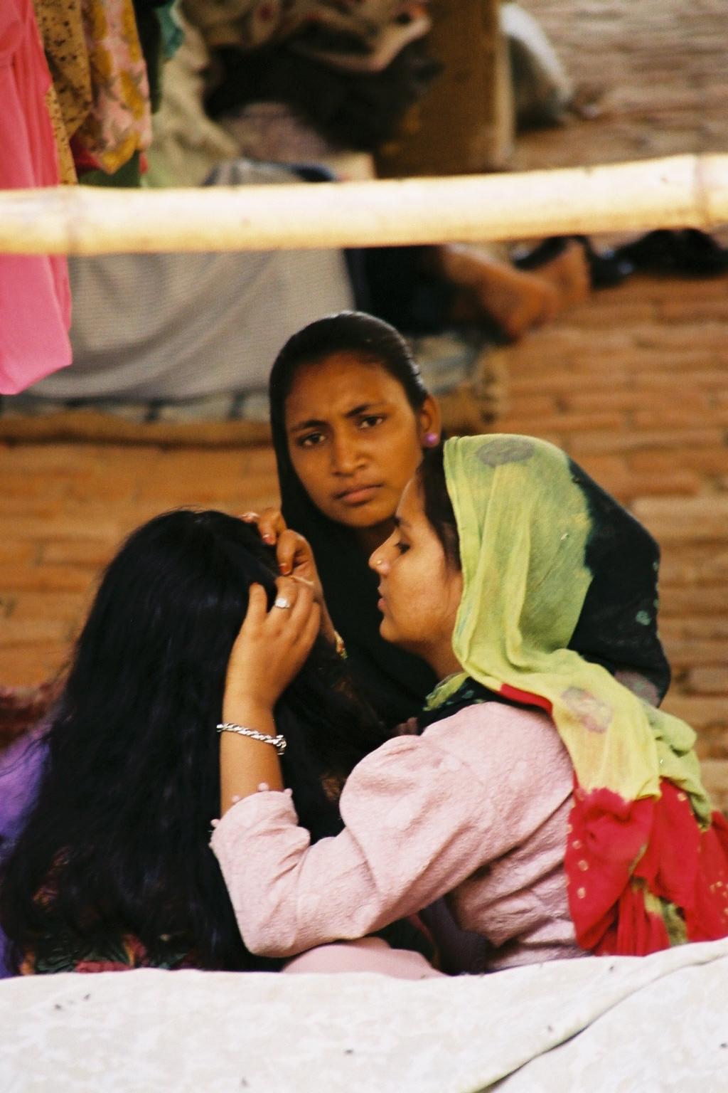 Réfugiées d'origine musulmane