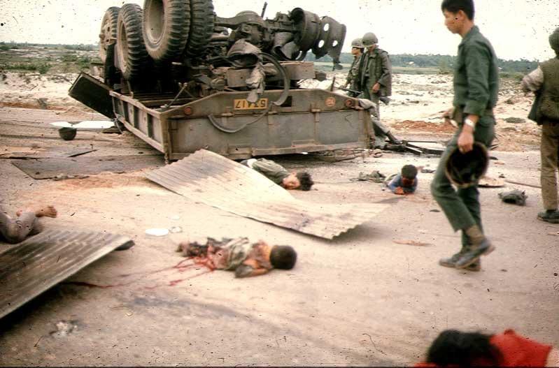 Route de Quang Tri 1972