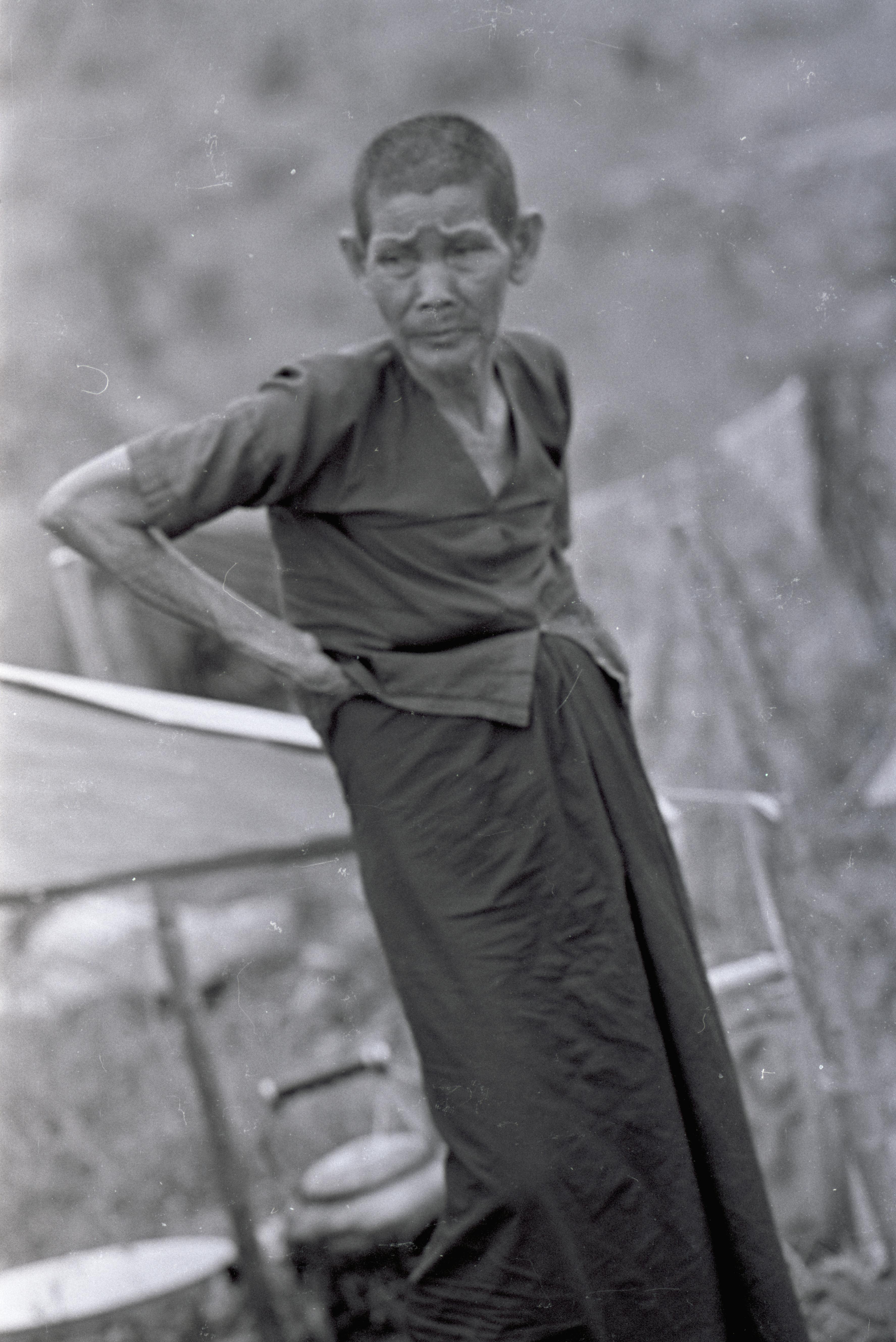 Dans un camp en Thailande