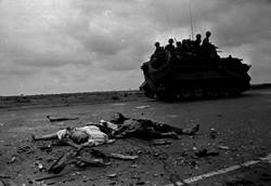 La route de Xan-Loc Avril 1975