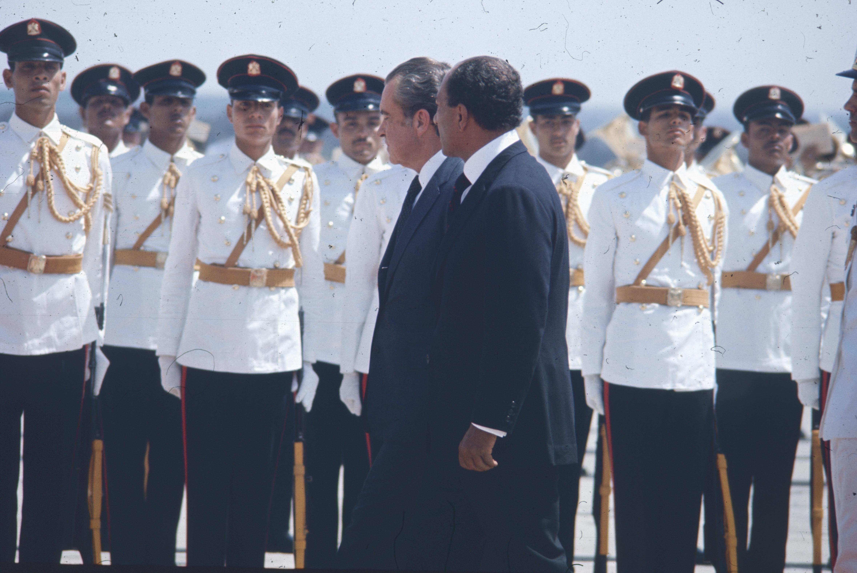 Visite du Président Nixon au Caire