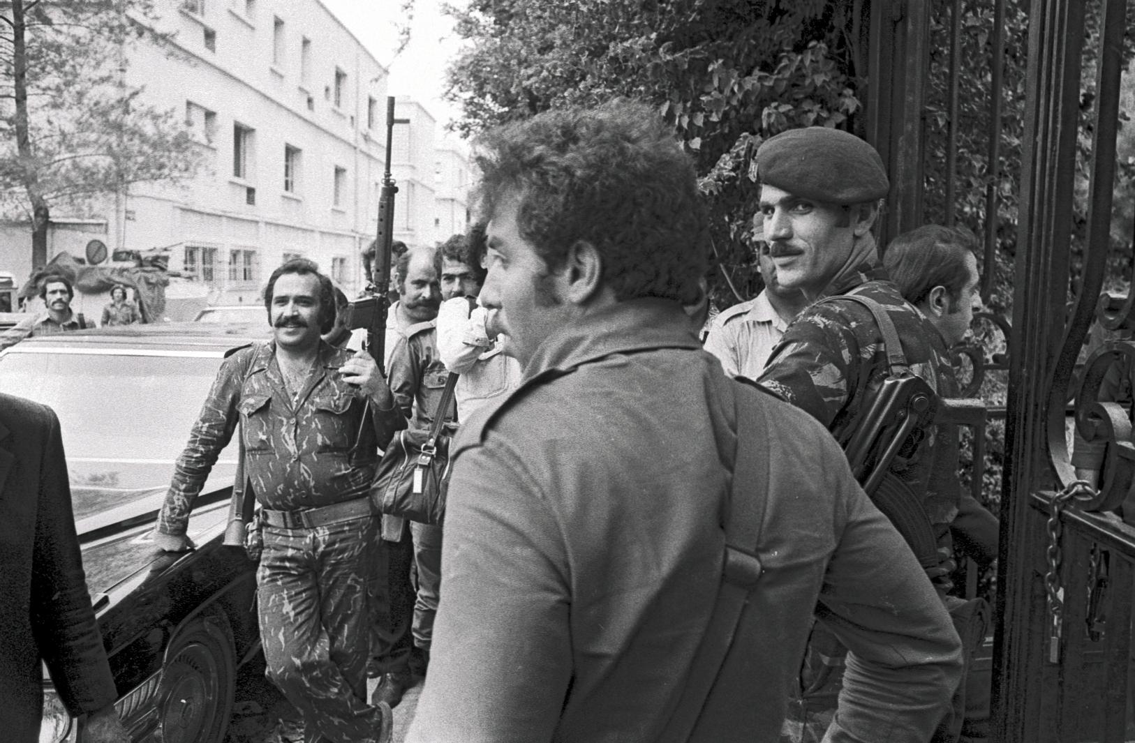 Les milices libanaises