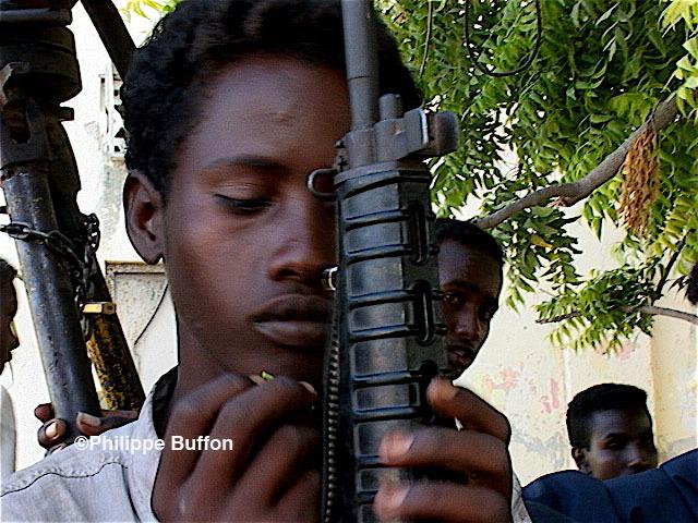 Enfants soldats somalien
