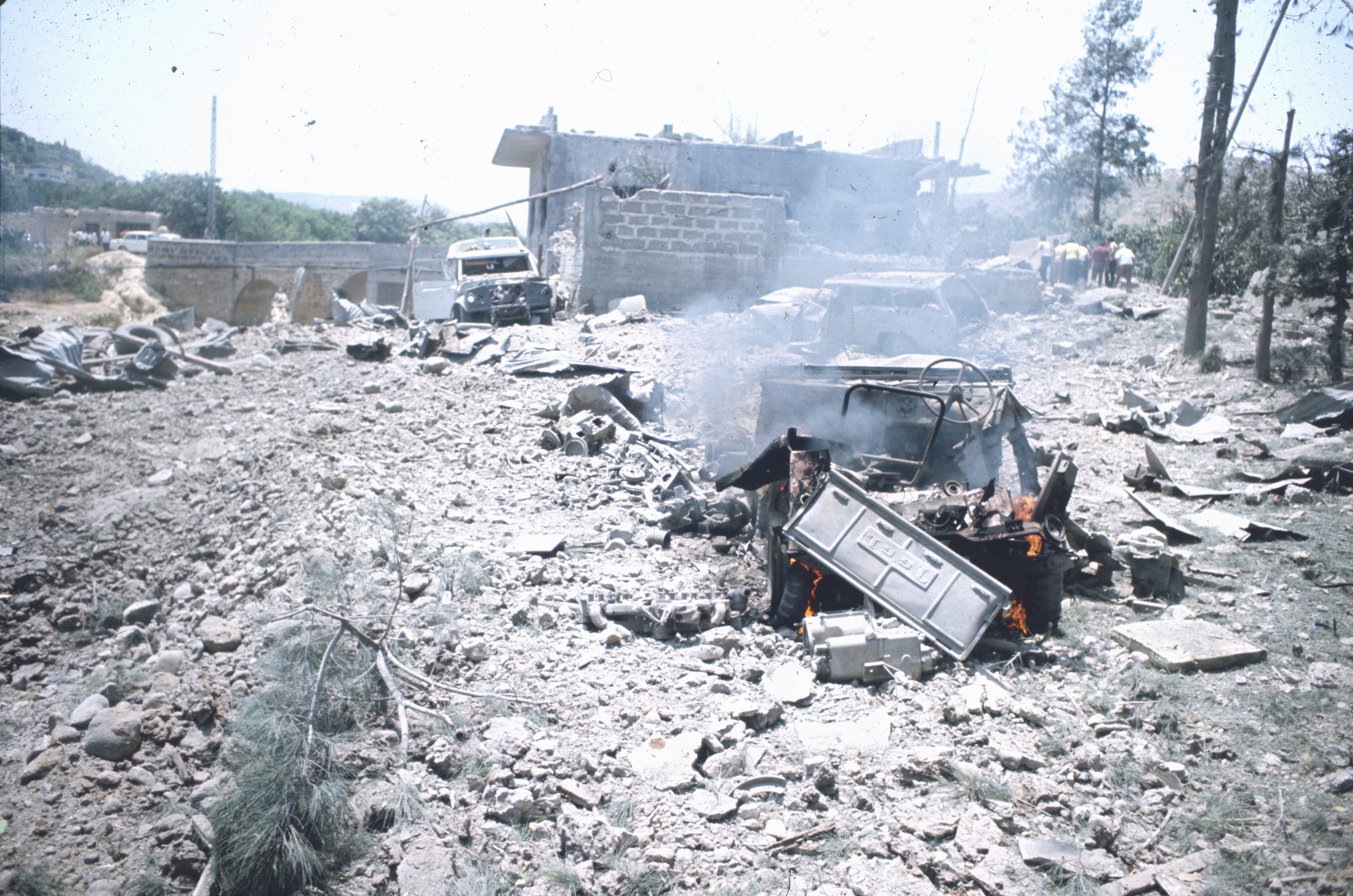 Bombardement israélien au sud liban