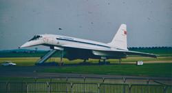 Le Tupolev 144 au Bourget