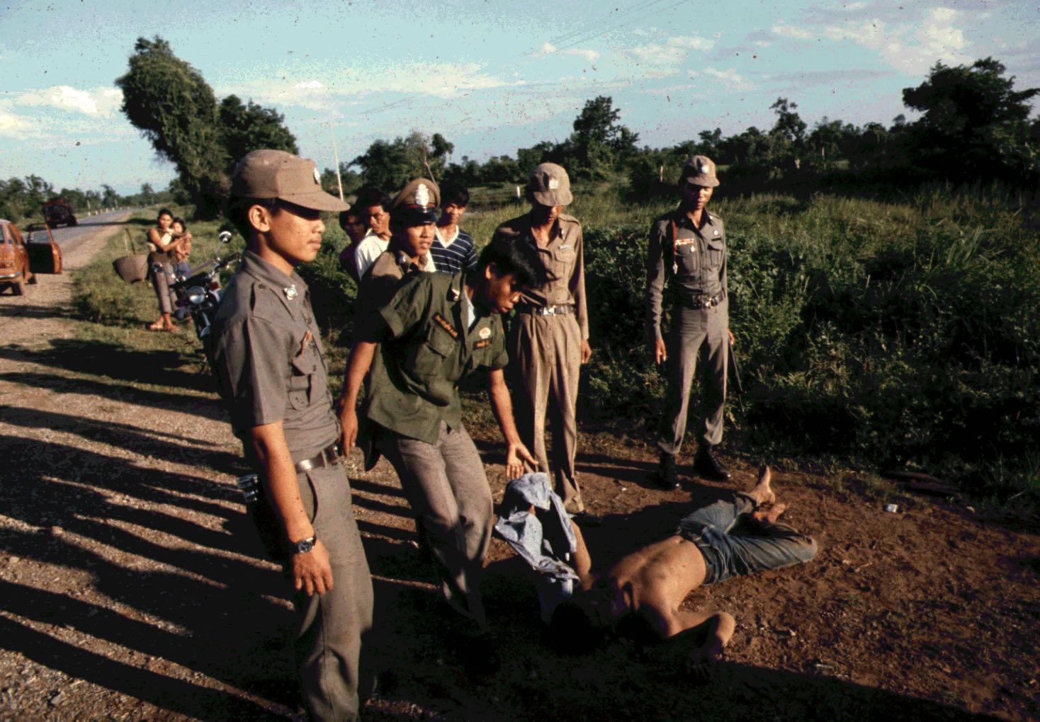 Combats à la frontière thailandaise