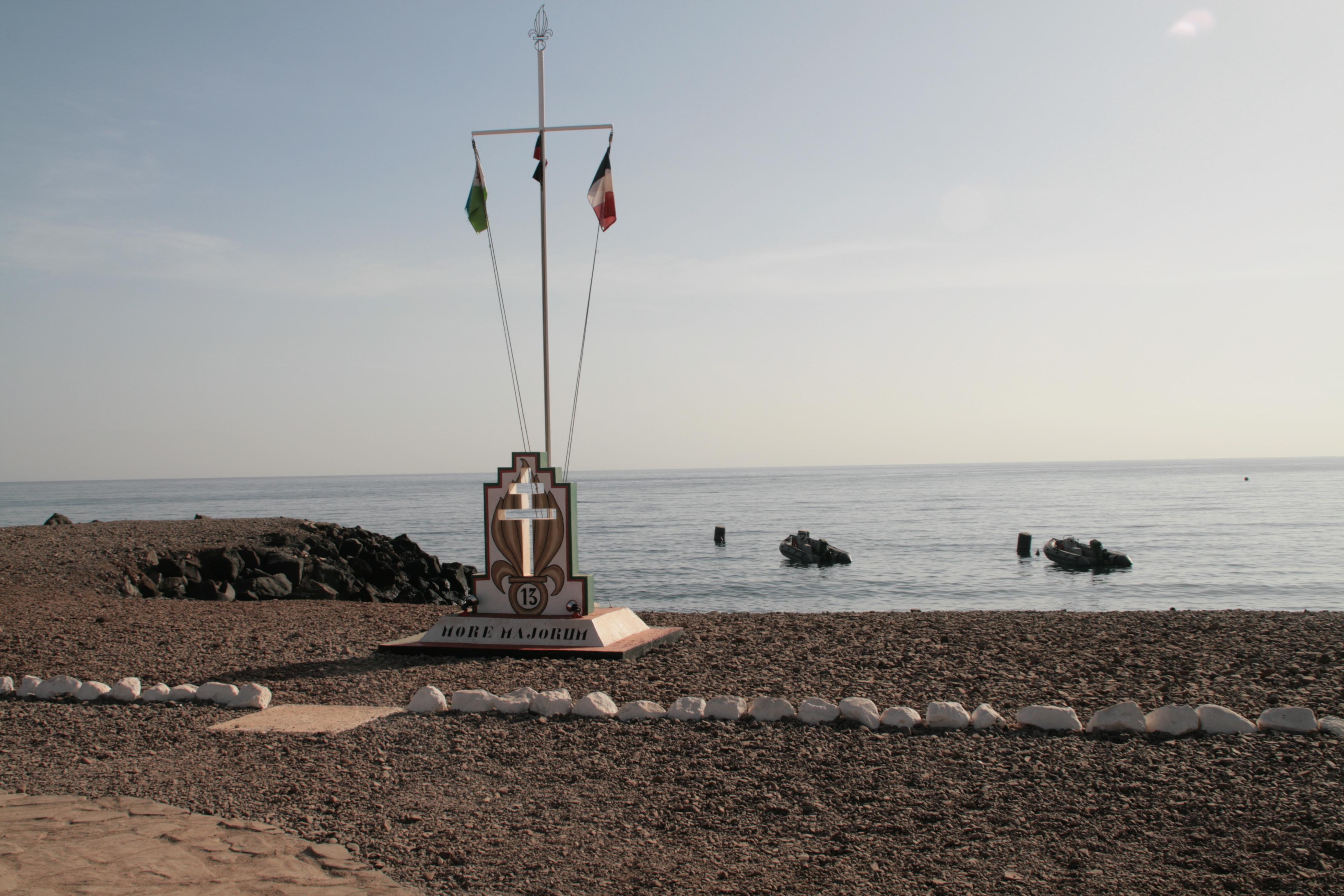 Le camp d'Arta plage