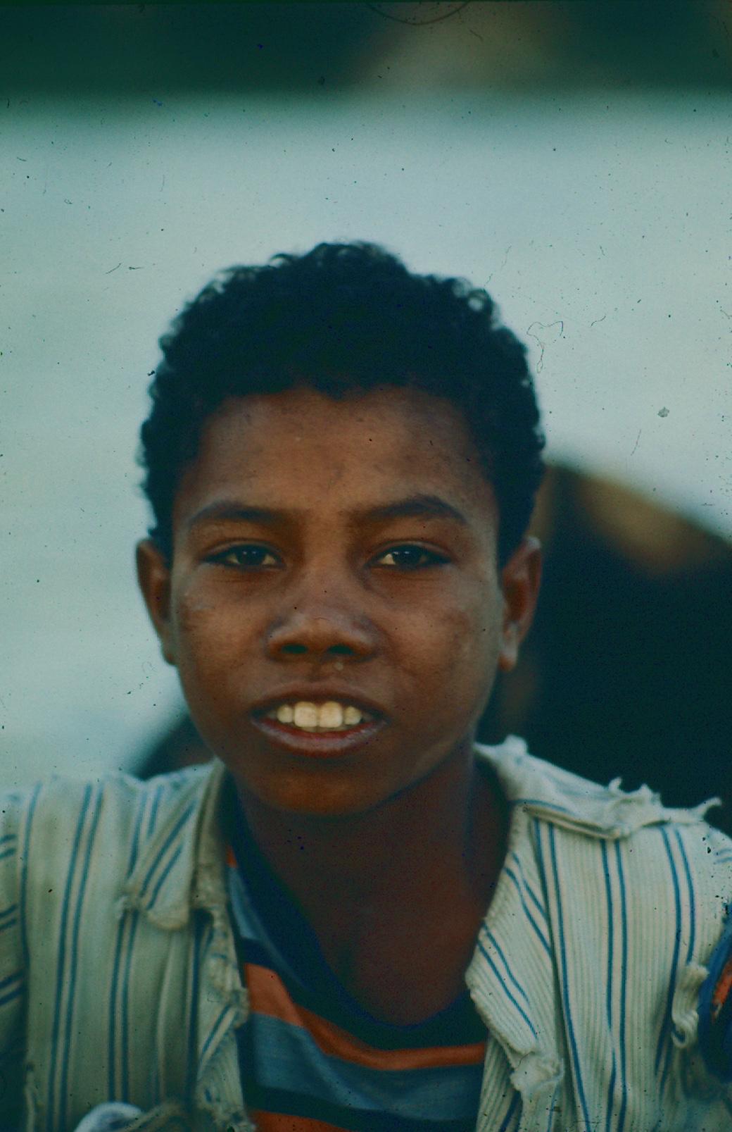 Un enfant sur le Nil