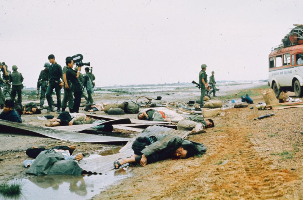 Carnage sur la route de Quang Try