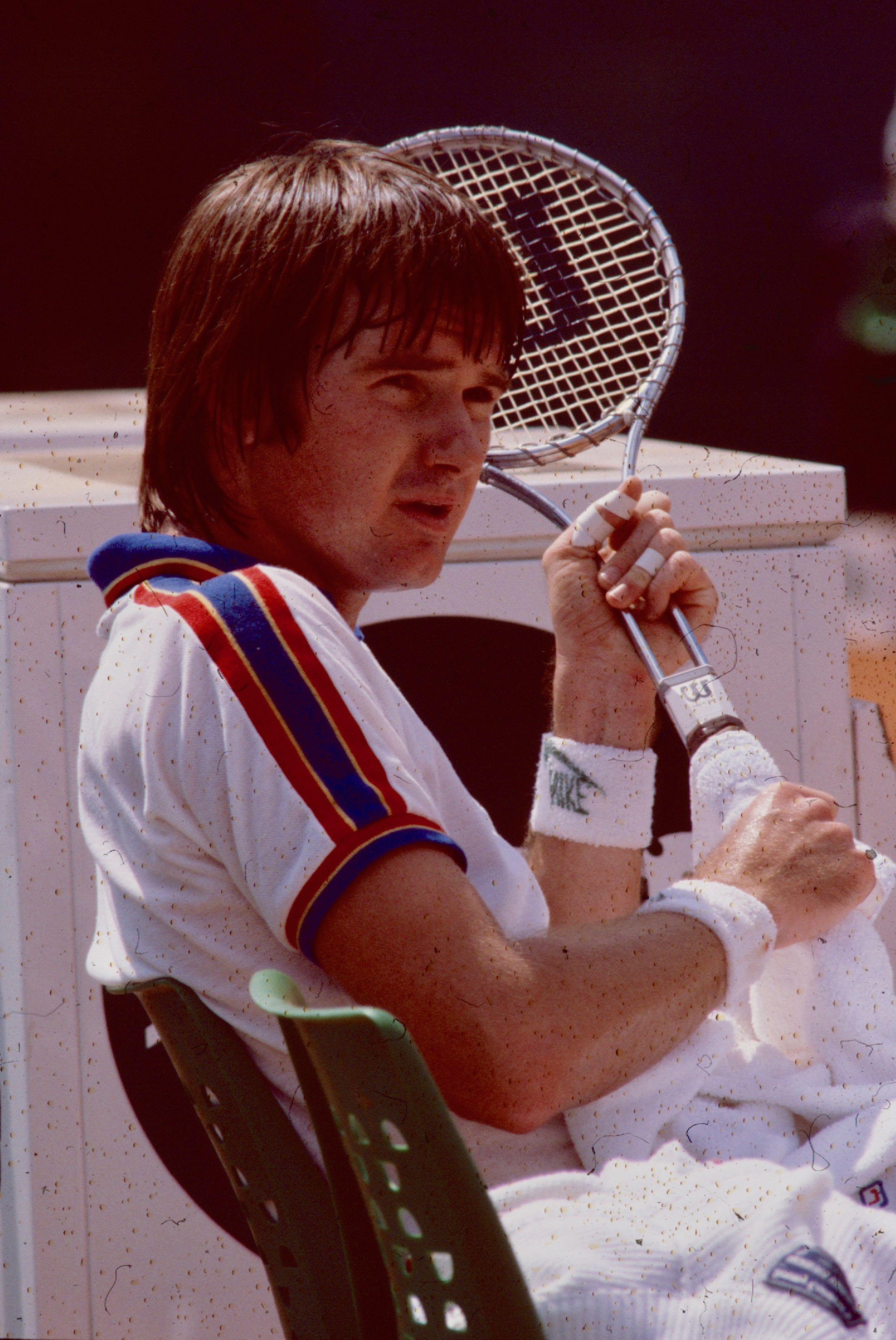 Jimmy Connors Rolland Garros