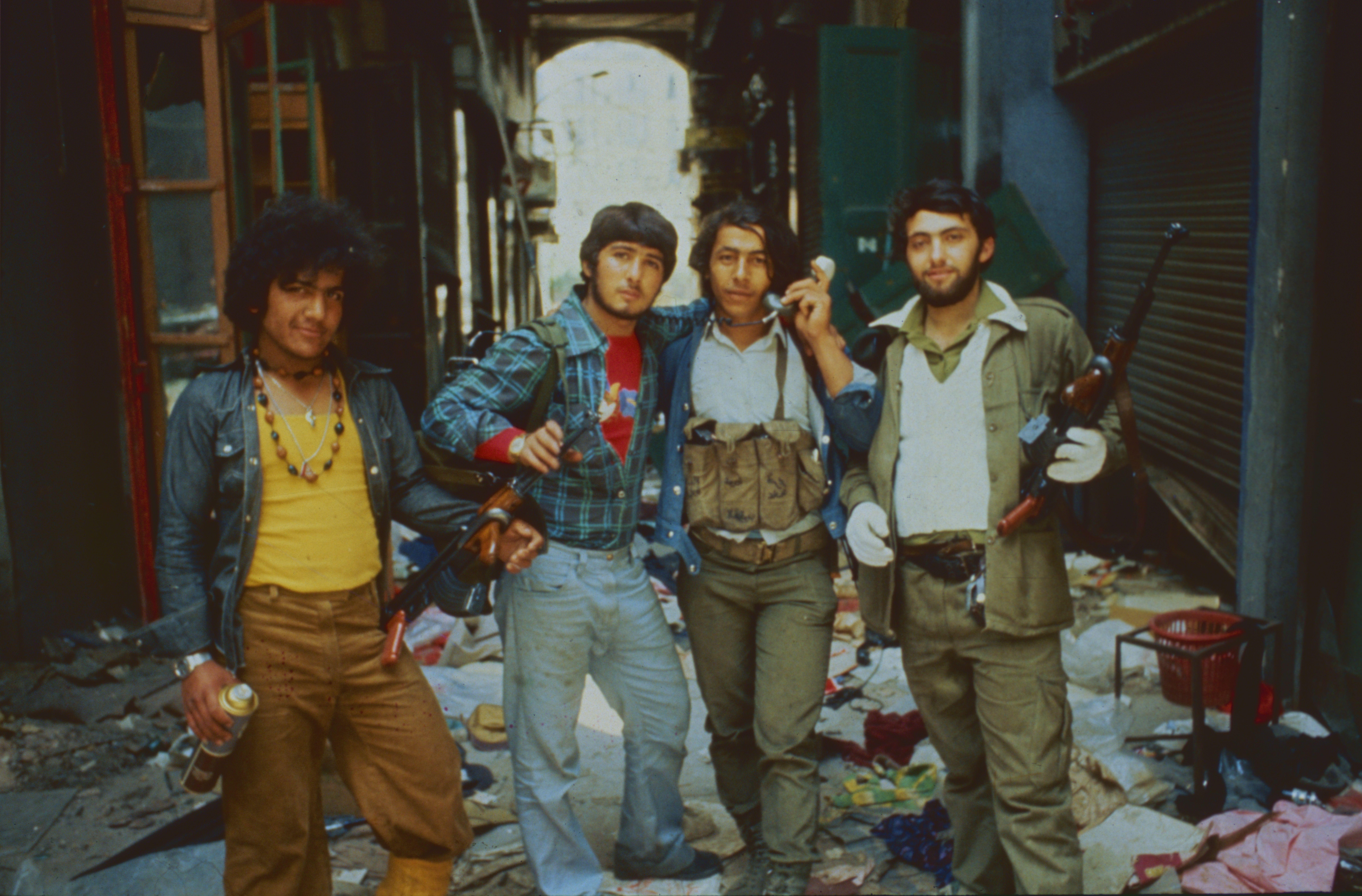 Les bandes armées Beyrouth
