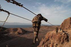 Entrainement du 2 REP à Djibouti