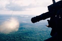 Un Gun-ship sud-vietnamien