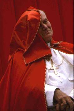 Le Pape Jean Paul II