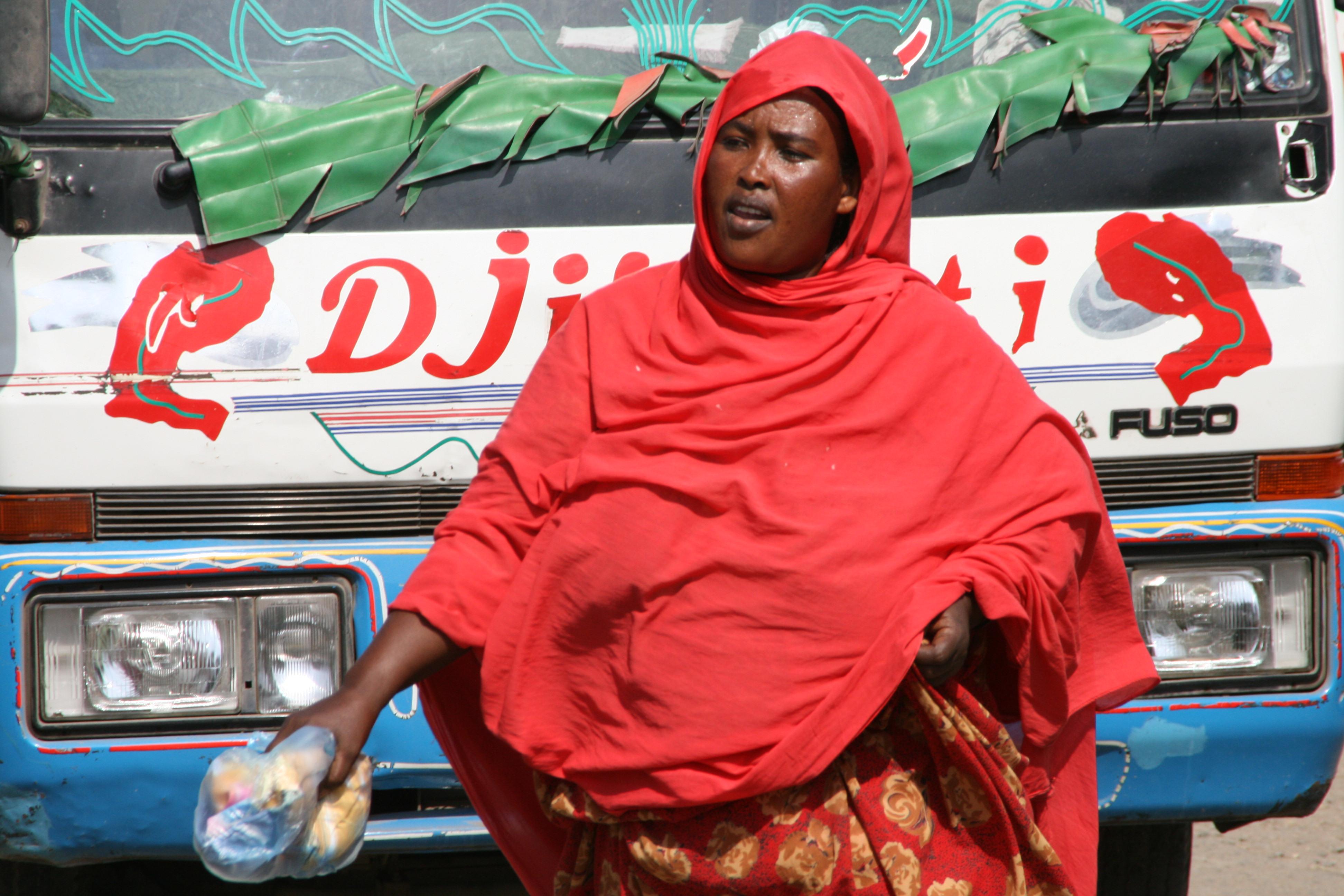 Scène de rue Djibouti