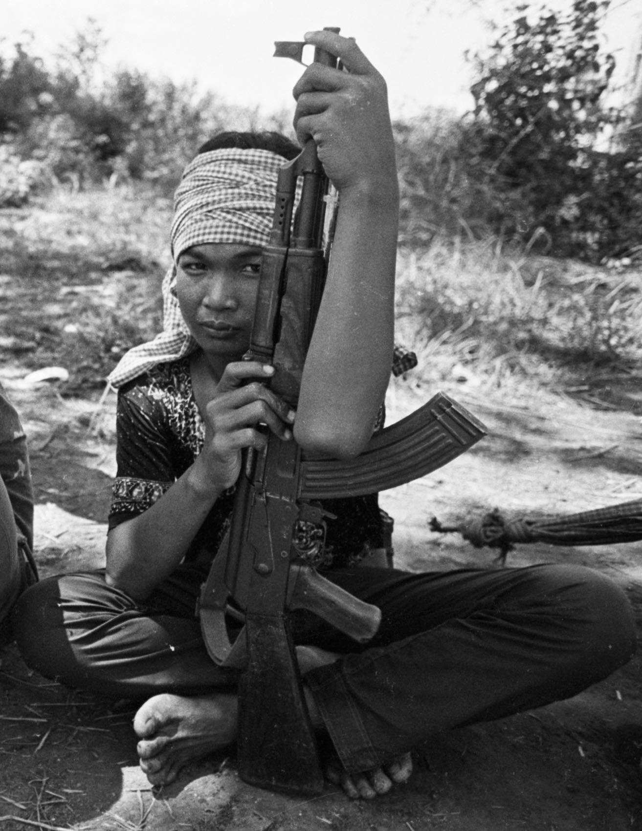Combattant khmer