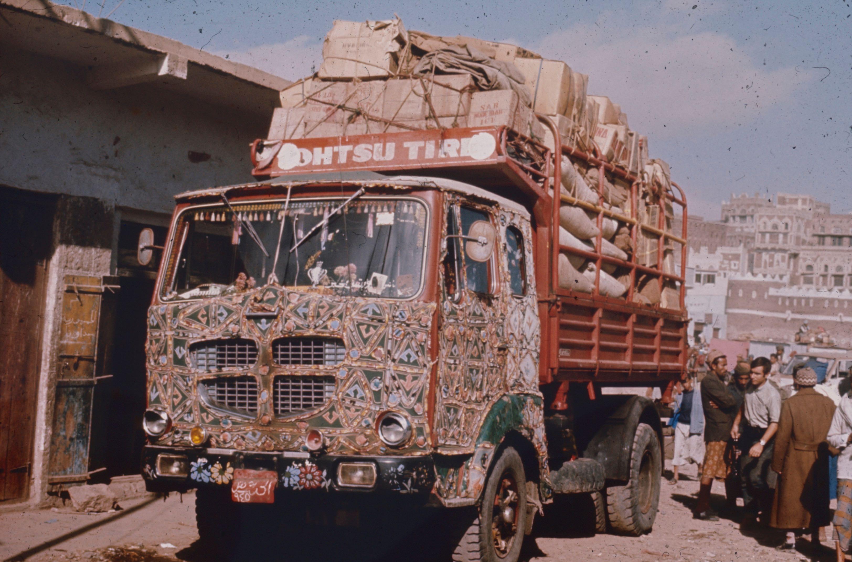 Un camion yemenite