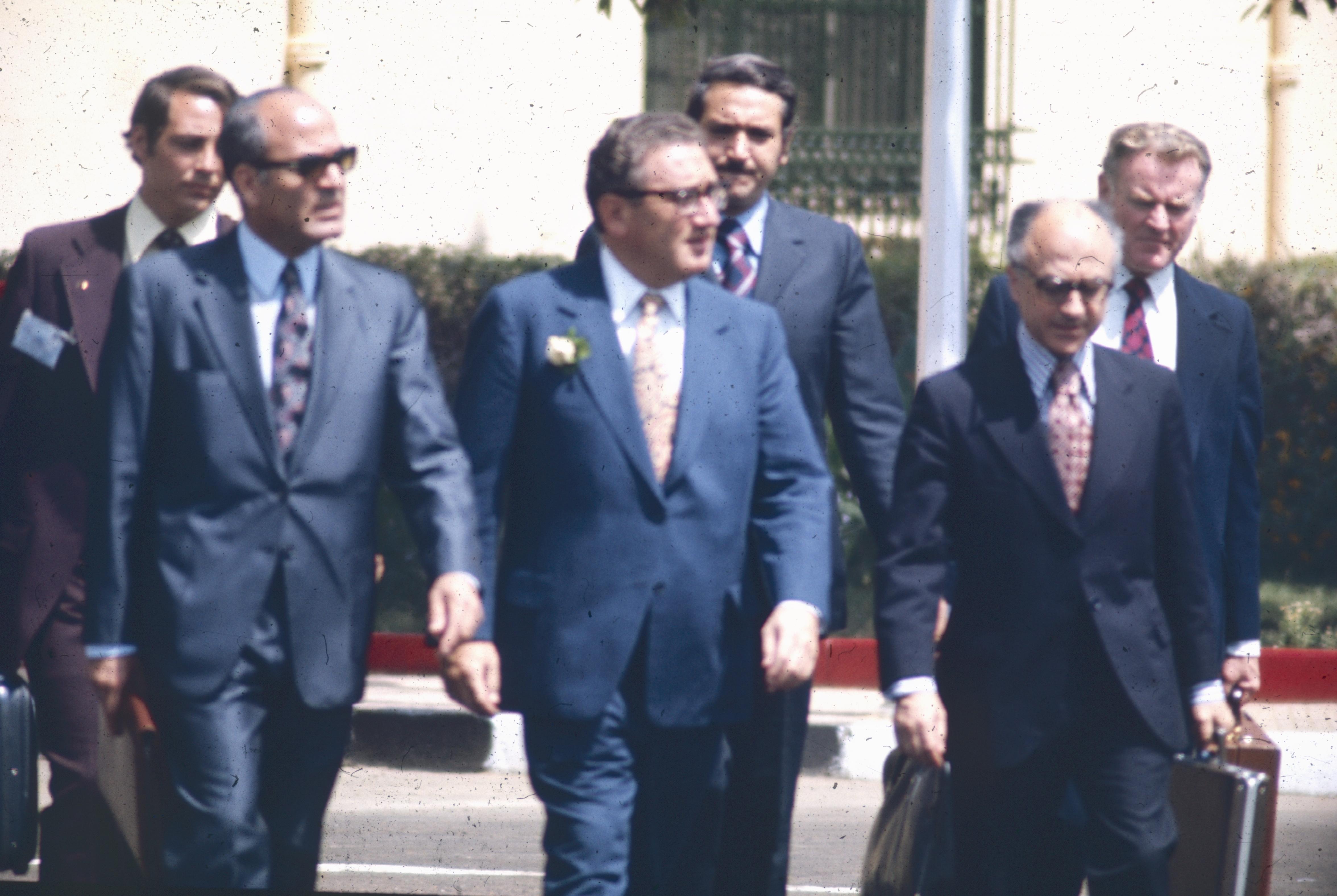 Henry Kissinger au Caire