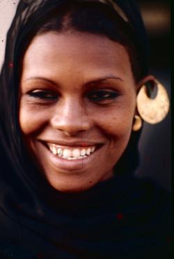 Une femme au bord du Nil